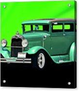 1930 Ford Tudor Sedan Acrylic Print
