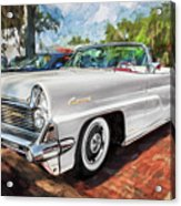 1959 Lincoln Continental Town Car Mk Iv Painted  Acrylic Print