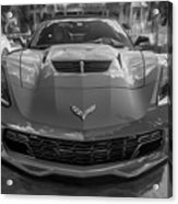 2015 Chevrolet Corvette Zo6 Painted  Acrylic Print