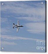 A U.s. Air Force A-10 Thunderbolt II Acrylic Print