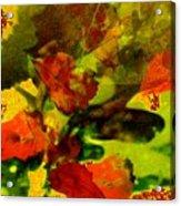 Abstract Landscape, Fall Theme Acrylic Print