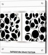 Abstract Monochrome Acrylic Print