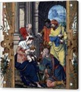 Adoration Of Magi Acrylic Print