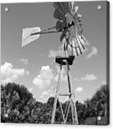 Aermotor Windmill Acrylic Print