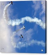 Aerostars Yak-50 Team Acrylic Print