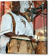 African Drum And Dance By Mawre And Company Acrylic Print