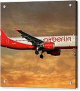 Air Berlin Airbus A320-214 Acrylic Print