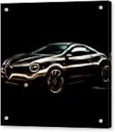 Alfa, Romeo Acrylic Print