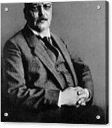 Alois Alzheimer, German Neuropathologist Acrylic Print