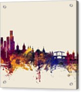Amsterdam The Netherlands Skyline Acrylic Print