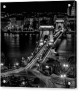 An Evening In Budapest Acrylic Print