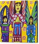 3 Angels Acrylic Print