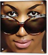 Aretha Franklin Acrylic Print