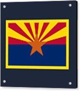 Arizona Flag Acrylic Print