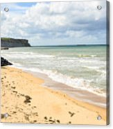 Arromanches Beach Acrylic Print