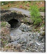 Ashness Stone Packhorse Bridge, Lake District National Park Acrylic Print
