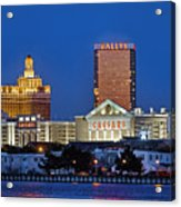 Atlantic City Skyline Acrylic Print