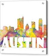 Austin Texas Skyline Acrylic Print