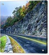 Autumn Colors In The Blue Ridge Mountains Acrylic Print