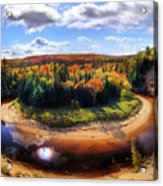 Autumn In Arrowhead Provincial Park Acrylic Print