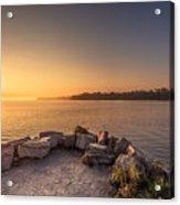 Sunrise At Sibbald Point Acrylic Print
