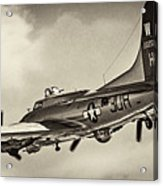 B17 Flying Fortress Acrylic Print