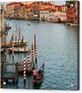 Basilica Di Santa Maria Della Salute, Venice, Italy Acrylic Print