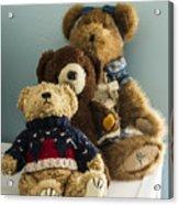 3 Bears Acrylic Print
