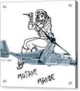Bell Boeing Cv-22b Osprey Mojave Maude Acrylic Print