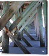 Beneath The Docks Acrylic Print