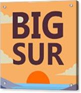 Big Sur Acrylic Print