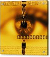 Biometric Identification Acrylic Print
