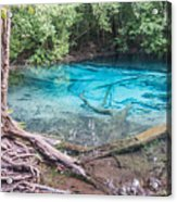 Blue Pool Acrylic Print