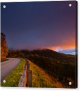 Blue Ridge Parkway. Acrylic Print