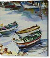 3 Boats I Acrylic Print