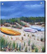 3 Boats Acrylic Print