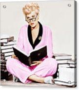 Born Yesterday, Judy Holliday, 1950 Acrylic Print by Everett
