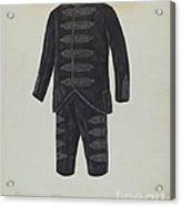 Boy's Suit Acrylic Print