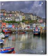 Brixham Harbour Acrylic Print