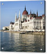 Budapest, Parliament Building  Acrylic Print