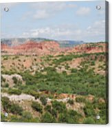 Caprock Canyon State Park  Acrylic Print