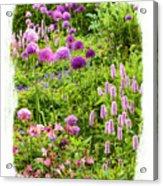 Castle Gardens Acrylic Print