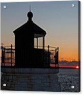 Castle Hill Light Newport Rhode Island Acrylic Print