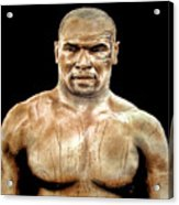 Champion Boxer And Actor Mike Tyson Acrylic Print
