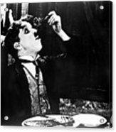 Chaplin: Gold Rush. 1925 Acrylic Print