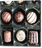 Chocolates Acrylic Print
