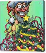 Christmas Elf Acrylic Print
