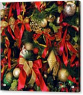 Christmas Holiday Tree Acrylic Print