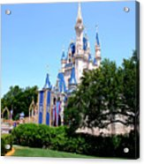 Cinderella's Castle Acrylic Print