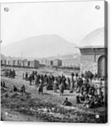 Civil War: Prisoners, 1864 Acrylic Print
